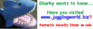 Jugglingworld is my online juggling equipment and novelty item store!